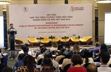 加强公私合作促进咖啡产业可持续发展
