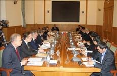越俄热带中心政府间委员会第29次会议在莫斯科召开