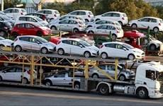 2018年11月份越南从泰国的汽车进口量达逾6400辆
