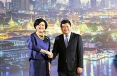 胡志明市与泰国加强友好合作关系