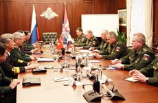 第四次越南与俄罗斯国防战略对话在俄罗斯举行