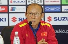 "AFF Suzuki Cup 2018:韩媒称赞越南球队主教练朴恒绪的""魔术"""