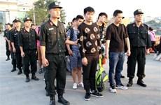 10名中国人因涉嫌网络诈骗被越南老街省警方抓获