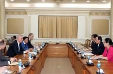 白俄罗斯希望参与胡志明市地铁建设工程项目