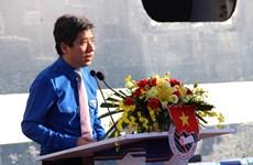 东南亚与日本青年船离开胡志明市