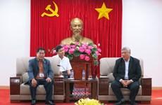 柬埔寨宗教事务部代表团对越南平阳省进行工作访问