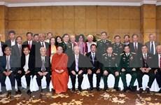 促进越南与柬埔寨民间交流活动