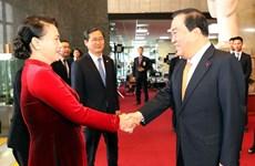 越南国会主席阮氏金银圆满结束对韩国进行正式访问之旅