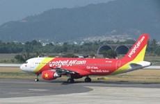 越捷航空公司因天气原因取消部分往返顺化市的航班