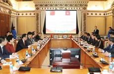 加强胡志明市与中国成都市的贸易旅游合作