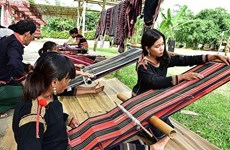 首届越南织锦文化节将于2019年1月5日至7日在得农省举行