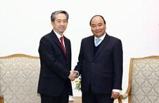 政府总理阮春福分别会见中国和丹麦两国驻越大使