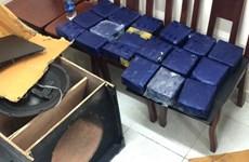 胡志明市:逮捕两名非法运输19公斤合成毒品的嫌犯