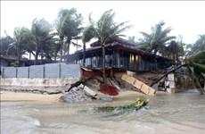 越南祖国阵线中央委员会常委会致电慰问中部洪灾受灾群众