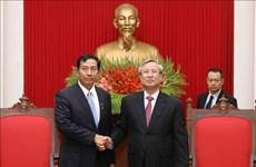 缅甸巩固与发展党高级代表团访问越南