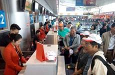 越航和捷星增加航班班次满足乘客春节期间出行需求