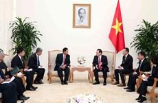 政府副总理王廷惠会见缅甸巩固与发展党高级代表团