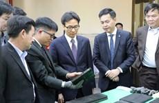 越南政府副总理武德儋一行深入林同省进行考察