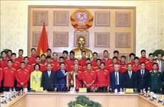 政府总理阮春福:足球是一个爱国主义运动 激发民族自豪感