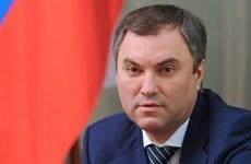 俄罗斯联邦国家杜马主席沃洛金开始对越南进行正式访问