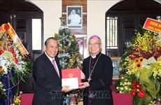 政府常务副总理张和平走访岘港教区