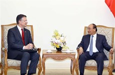 越南政府总理阮春福会见美国驻越大使