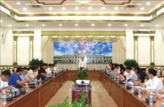 胡志明市对外公布2018年十大事件