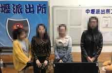 17名涉嫌入境台湾后脱逃的越南游客被拘留调查