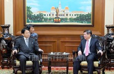 促进越南胡志明市与日本爱知县合作