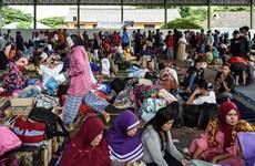 印尼当局因海啸威胁发布居民疏散命令
