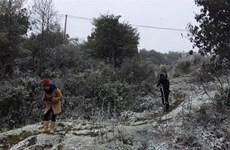 老街和谅山省遭受今年冬季以来最低的气温
