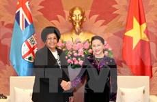 越南国会主席阮氏金银就斐济议会议长鲁维尼去世致慰问电