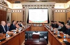 胡志明市与英国加强城市发展合作