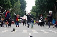 河内市举行多项活动喜迎2019己亥新年