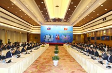越老政府间合作委员会第41次会议在河内召开
