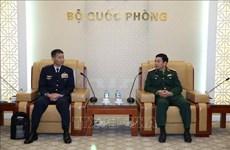 越南愿与日本加强防务合作