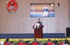 国会主席阮氏金银:检查部门应加强反腐倡廉力度