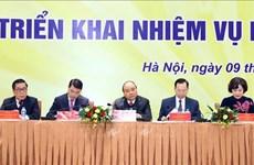 阮春福:银行在考虑经营效益的同时要承担起帮助人民的责任