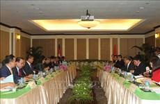 越共中央检查委员会工作代表团对柬埔寨进行工作访问