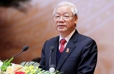 阮富仲致信祝贺越南-瑞典建交50周年