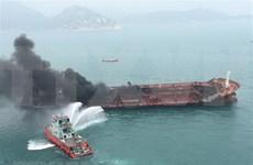 """Aulac Fortune""号运油船爆炸起火事故:一名失踪船员尸体已找到"