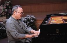 越南著名钢琴师邓泰山将在越韩特别名音乐演出