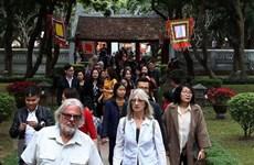 河内市提前两年完成国际游客接待量目标