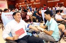 """""""红色星期日""""无偿献血活动在岘港、清化等省市举行"""