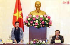 阮氏金银同越南国家油气集团举行工作座谈会