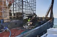 韩国渔船起火事故:关于两名越南籍船员的进一步消息