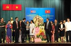 胡志明市人民议会主席:越南与古巴的经贸合作将取得长足进展