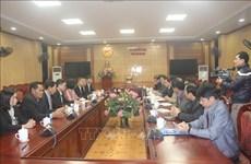 老挝巴特寮通讯社高级工作代表团走访越南清化省