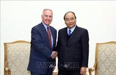 越南政府总理阮春福会见美国前驻越大使