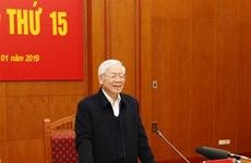 越共中央总书记、国家主席阮富仲:继续完善反腐机制  有效杜绝贪污腐败